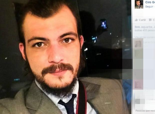 Filho de Ciro Gomes é baleado em tentativa de assalto