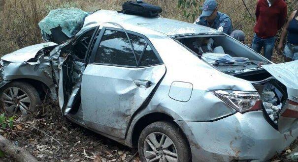 Deputado Sérgio Vidigal sofre acidente na BR 262